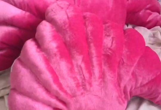 فیلم آموزش دوخت کوسن صدفی