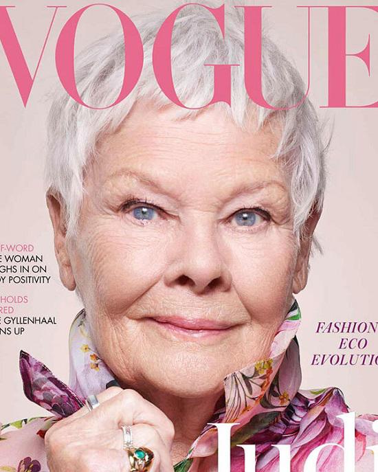 مسنترین بازیگر زن که روی جلد ووگ رفت