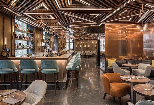 طراحی دکوراسیون رستورانی در سال 2020