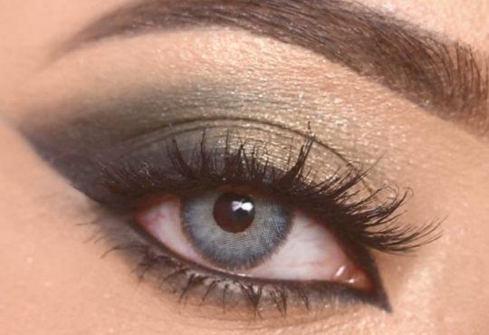 فیلم آموزش آرایش چشم دودی بسیار زیبا
