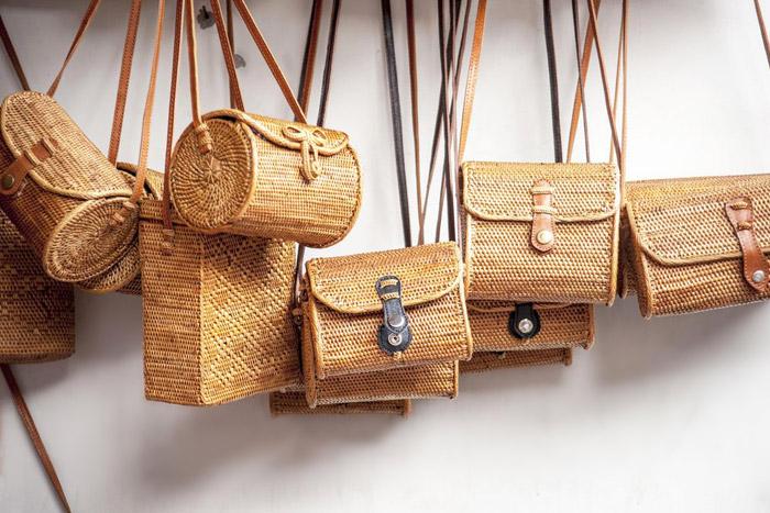 کیف های حصیری