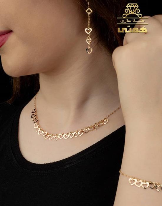 مدل زیورآلات طلای ایرانی