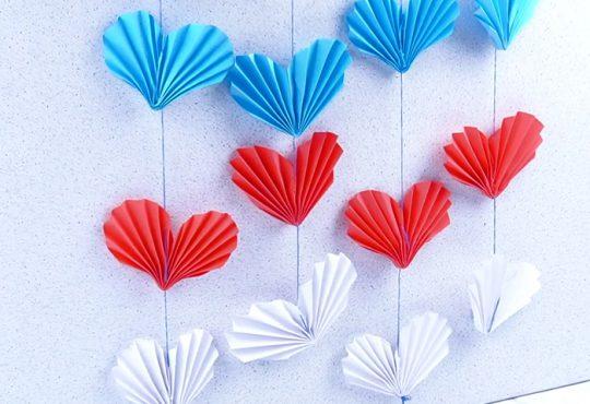فیلم آموزش دست کردن قلب اوریگامی