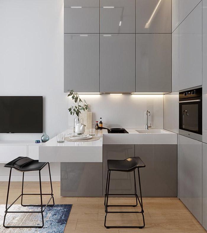 آشپزخانههای کوچک هم از این کوچکتر نمیشوند!