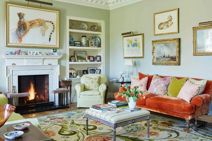دکوراسیون منزل به سبک انگلیسی