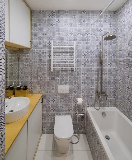 جا دادن وان و جکوزی در حمام های کوچک