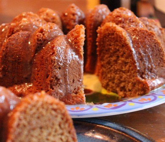 طرز پخت کیک عسلی
