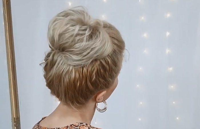 فیلم آموزش بافت موی گوجه ای بسیار ساده در منزل