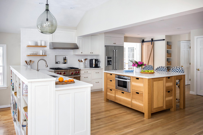 اپن آشپزخانه دو طبقه