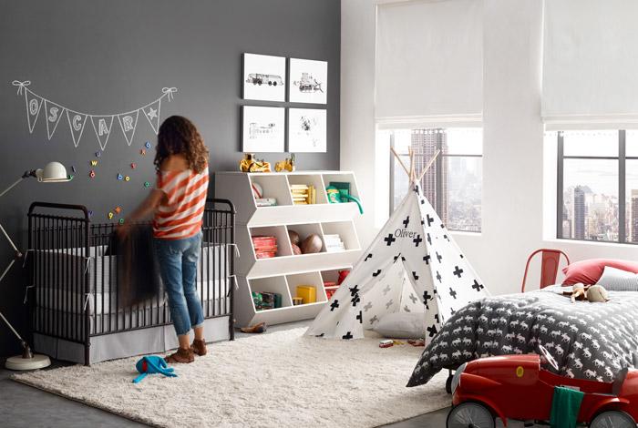 اتاق خاکستری کودک