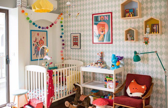 تزیین اتاق نوزاد با ایده های جذاب