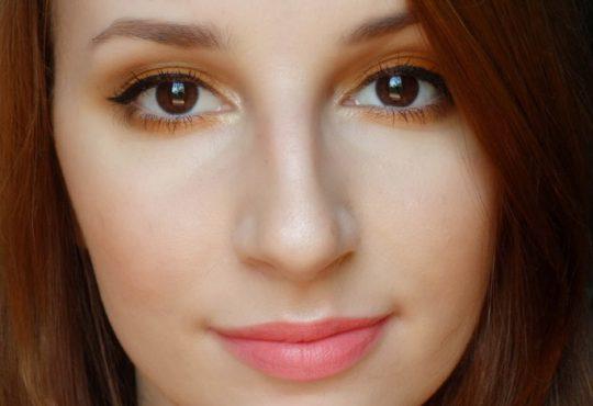 آموزش آرایش چشم رنگ آجری
