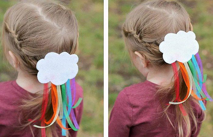 آموزش گیره مو دخترانه