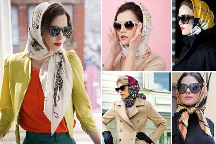انتخاب روسری و شال بر حسب رنگ پوست