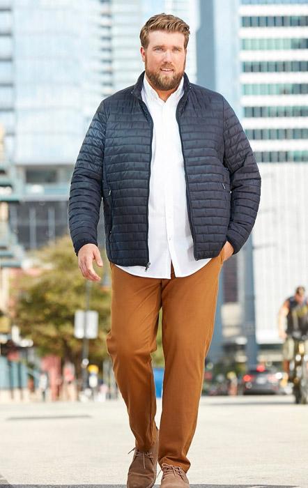 پوشش هایی که مردان چاق را جذاب تر نشان میدهد