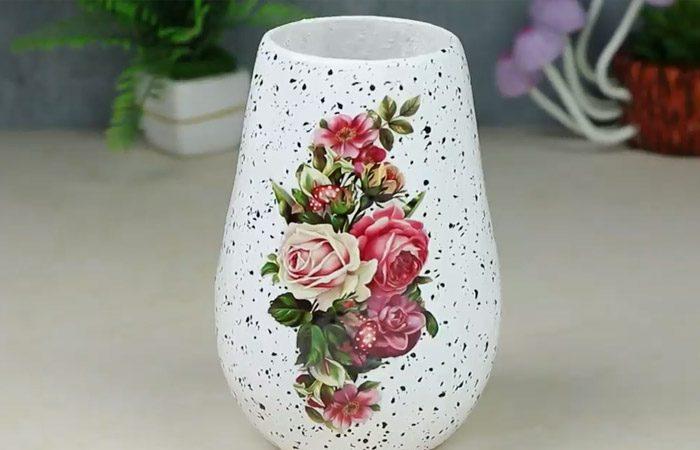 فیلم آموزشی درست کردن گلدان