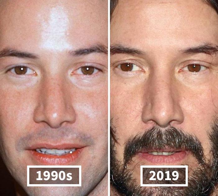 گذر عمر و شکسته شدن چهره سلبریتیها
