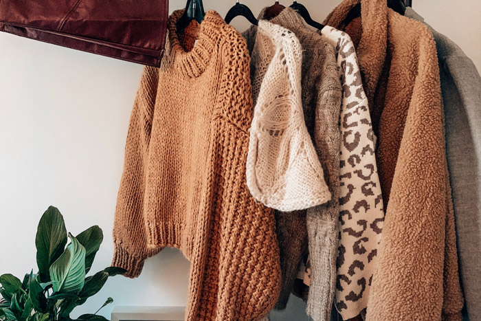 نگه داری لباس های پاییز و زمستانه