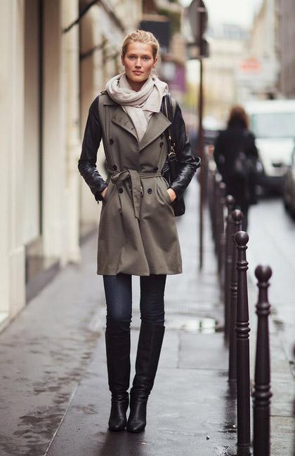 نکات پوشیدن بارانی