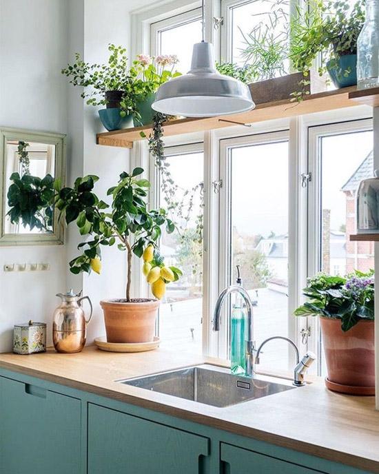 آشپزخانه مدرن کم هزینه