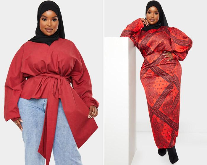 اولین مدل مسلمان و سایز بزرگ