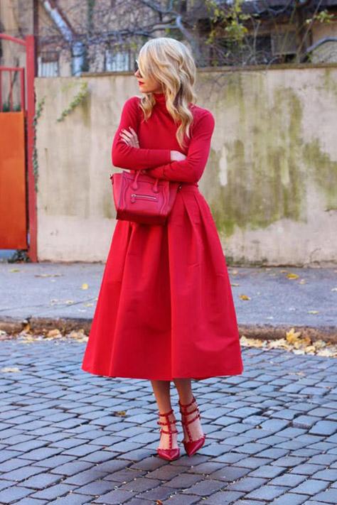 رنگ لباس برای خانم های مو بلوند