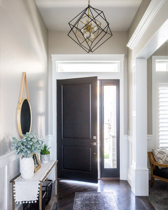 نور پردازی ورودی خانه
