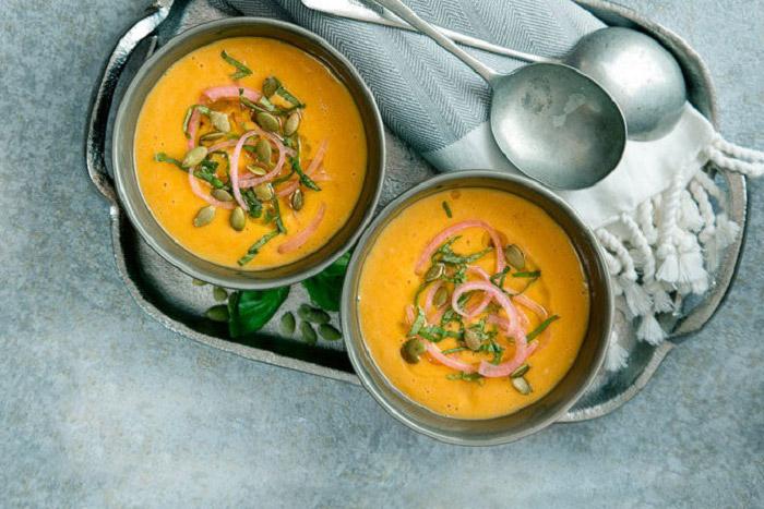 طرز تهیه سوپ هویج و زنجبیل