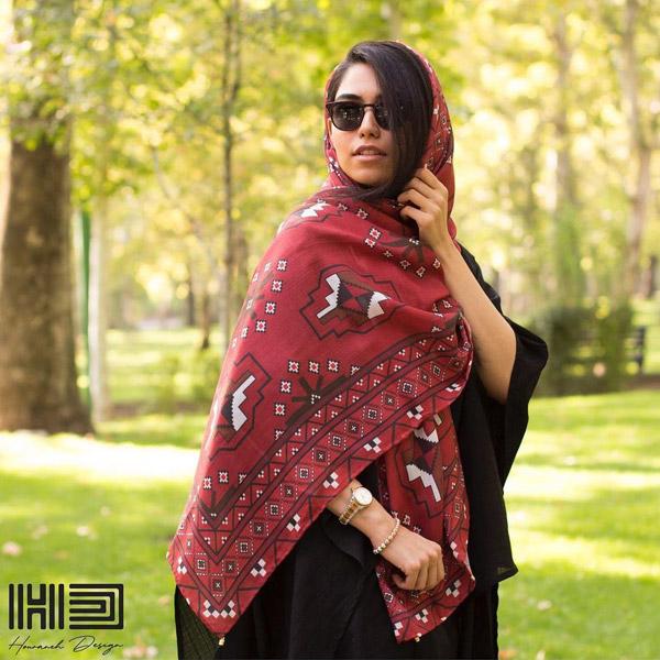 مدل شال و روسری