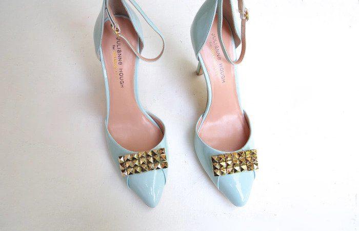 تزئین کفش ساده