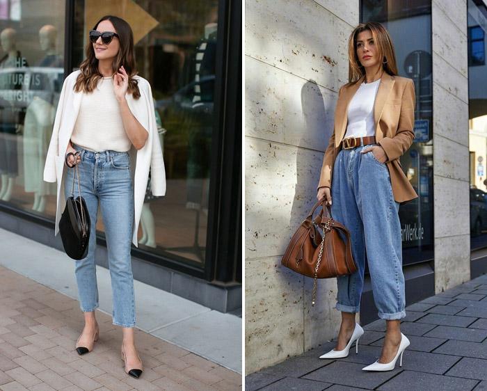 شلوار جین را چگونه بپوشیم