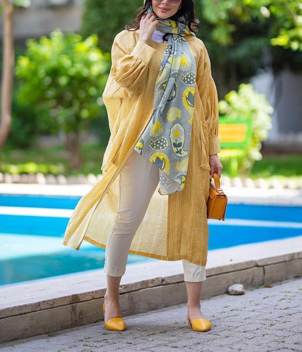 مدل مانتوهای شاد و خنک تابستانی
