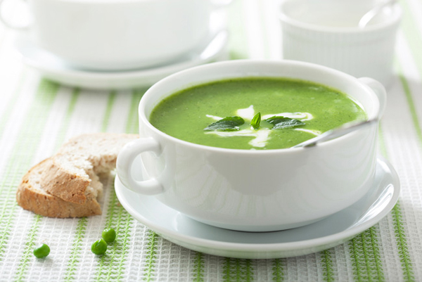 طرز تهیه سوپ نخودفرنگی