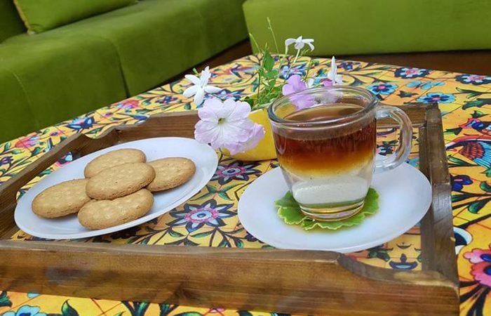 چطور چای دو رنگ درست کنیم؟