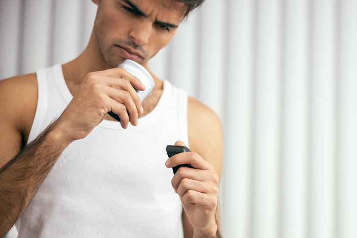 استفاده از ضدتعریق