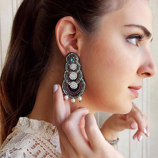 مدل گوشواره دستساز
