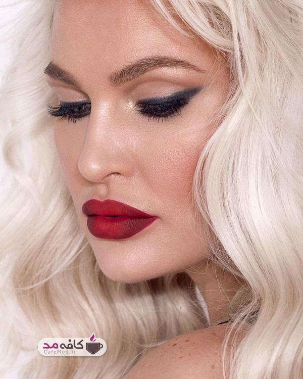 انواع مدل آرایش برای صورت