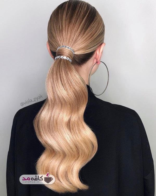 بستن مو