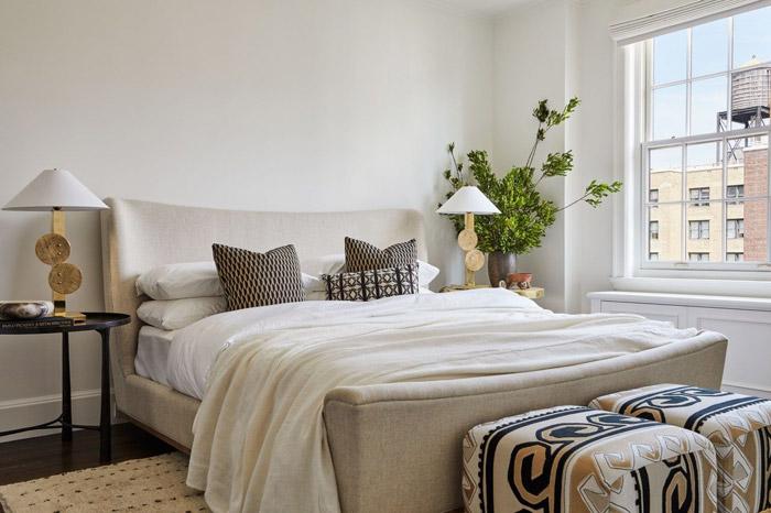 اتاق خواب آرامشبخش و تمیز