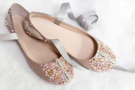 آموزش تزئین کفش