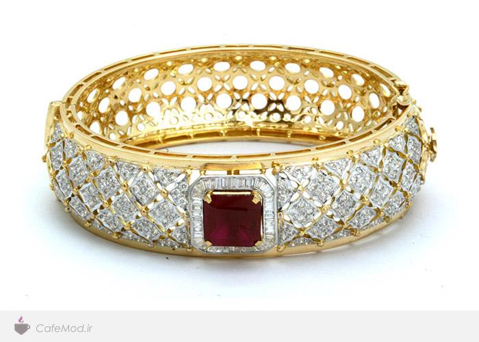 مدل دستبند جواهر