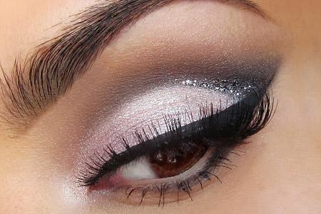 آموزش مدل آرایش ملایم چشم  2