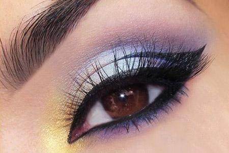آموزش مدلی برای آرایش چشم  2