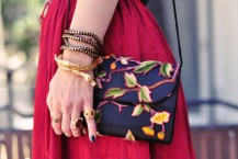 مدل کیف زنانه گلدار