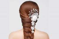 آموزش آرایش موی عروس