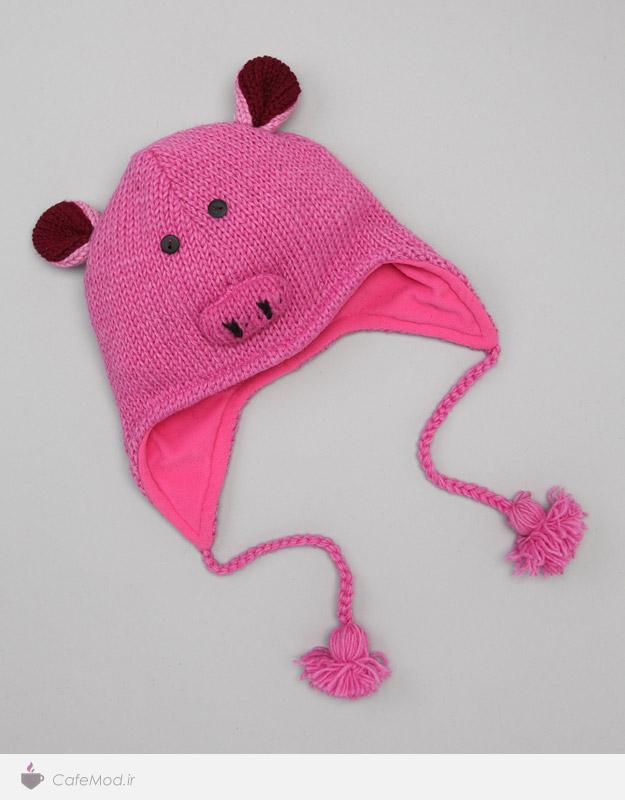 مدل کلاه بافتنی کودک