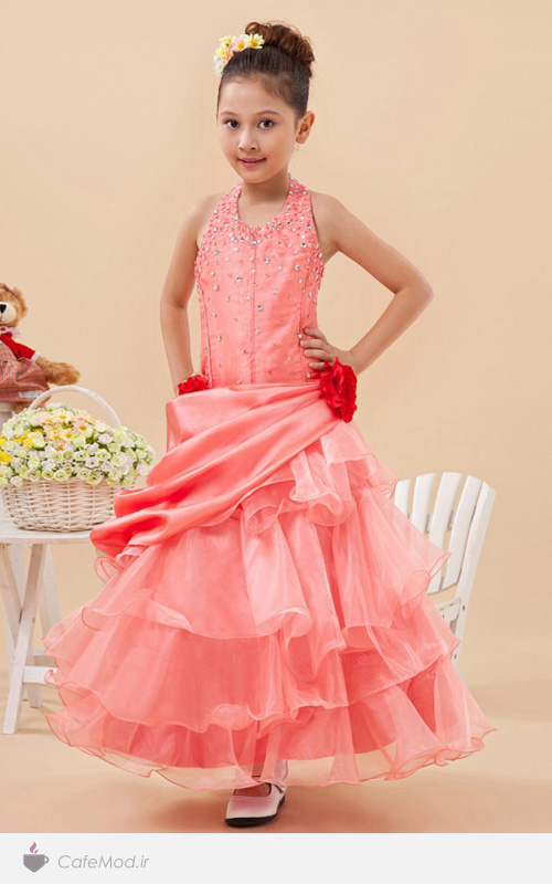 لباس پرنسسي دخترانه