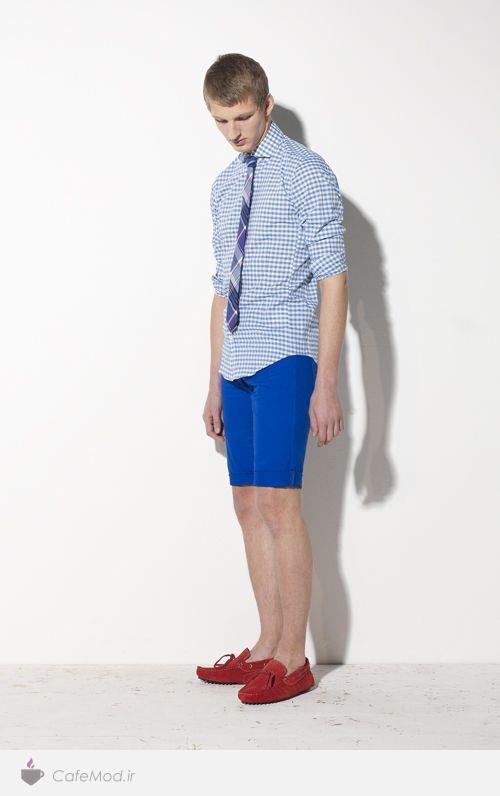 مدل پیراهن و شلوارک مردانه