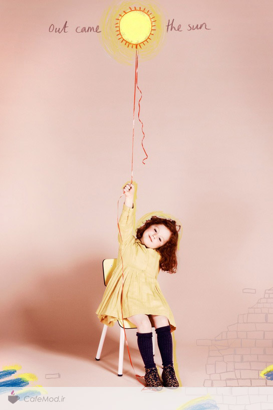 مدل لباس دخترانه charlotte olympia