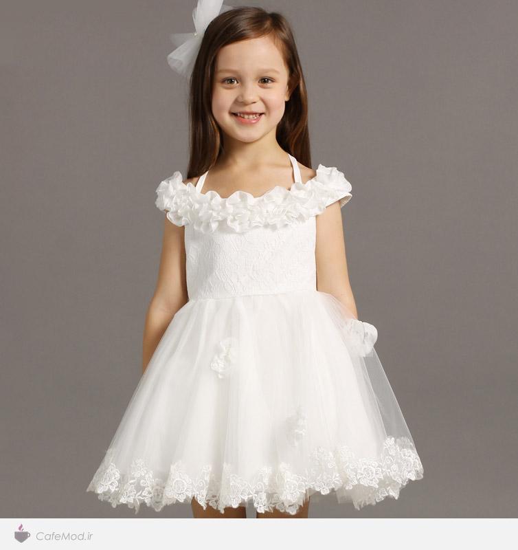 مدل لباس عروس برای دختر بچه